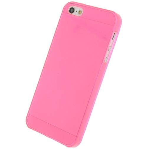 Productafbeelding van de Mobilize Gelly Case Pink Transparant Apple iPhone 5/5S/SE