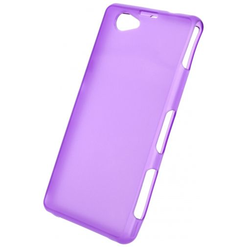 Productafbeelding van de Mobilize Gelly Case Purple Sony Xperia Z1 Compact