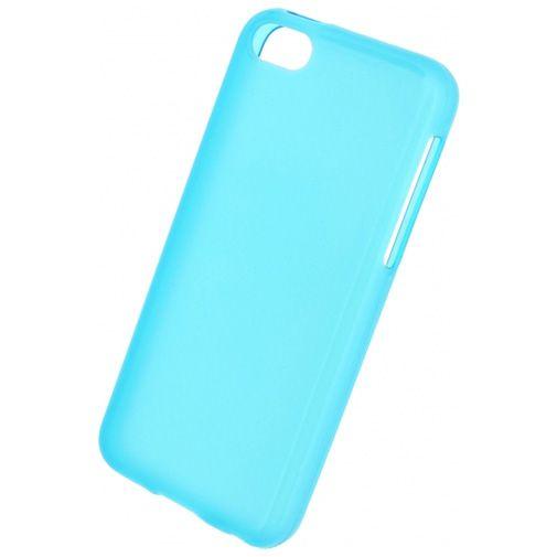 Mobilize Gelly Case Transparent Turqoise Apple iPhone 5C