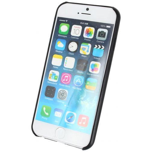 Mobilize Leather Case Black Apple iPhone 6/6S
