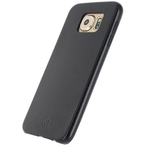 Productafbeelding van de Mobilize Leather Case Black Samsung Galaxy S6