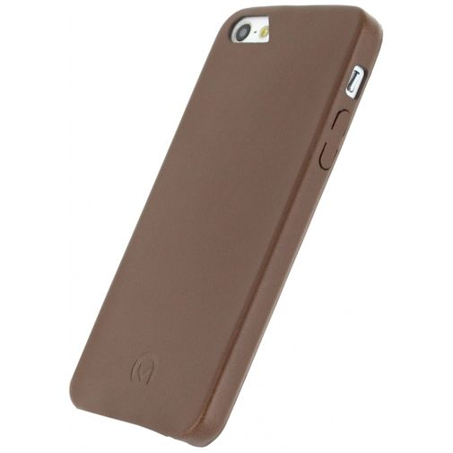 Mobilize Leather Case Brown Apple iPhone 5/5S/SE