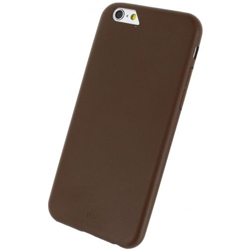 Mobilize Leather Case Brown Apple iPhone 6/6S