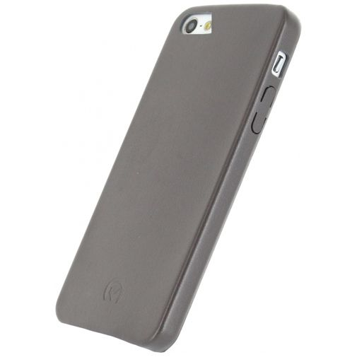 Mobilize Leather Case Grey Apple iPhone 5/5S/SE