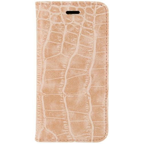 Mobilize Premium Magnet Book Case Alligator Coral Pink Apple iPhone 5/5S/SE