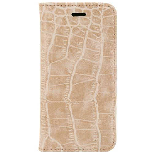 Mobilize Premium Magnet Book Case Alligator Coral Pink Samsung Galaxy S6
