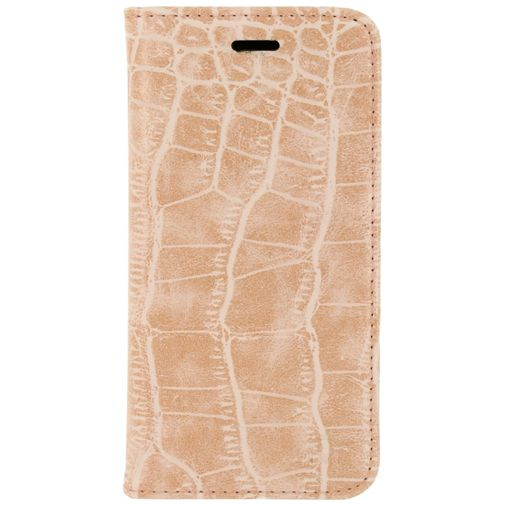 Mobilize Premium Magnet Book Case Alligator Coral Pink Samsung Galaxy S7