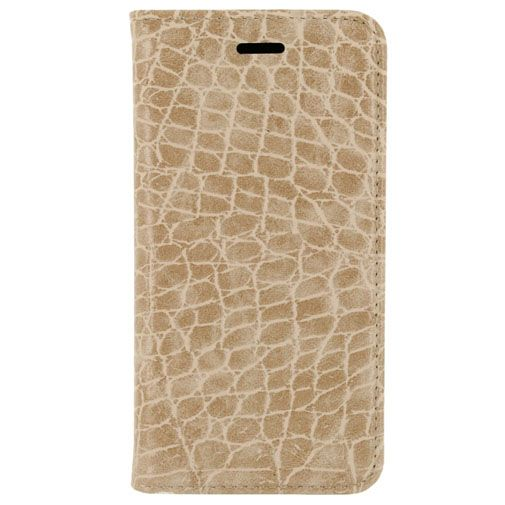 Mobilize Premium Magnet Book Case Alligator Peanut Brown Apple iPhone 6/6S