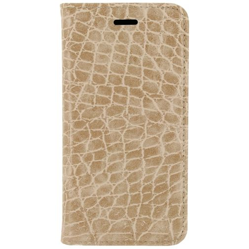 Mobilize Premium Magnet Book Case Alligator Peanut Brown Samsung Galaxy S6