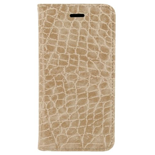Mobilize Premium Magnet Book Case Alligator Peanut Brown Samsung Galaxy S7 Edge