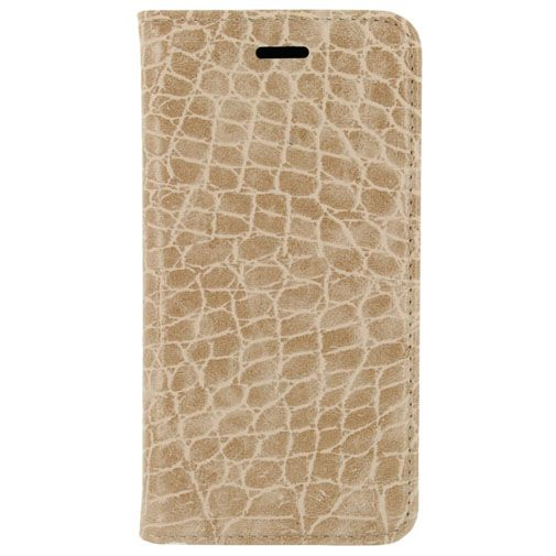Mobilize Premium Magnet Book Case Alligator Peanut Brown Samsung Galaxy S7