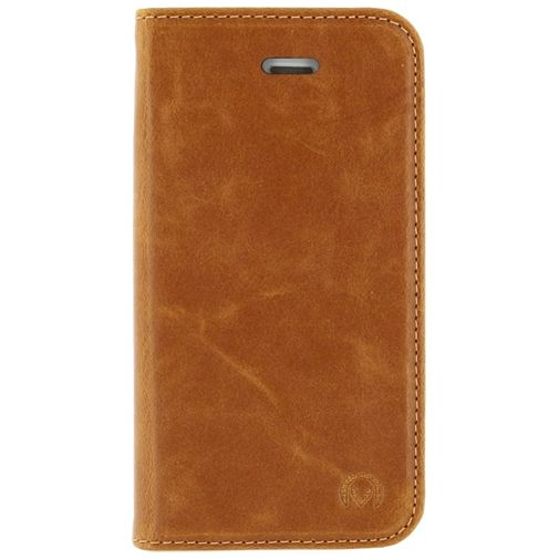 Mobilize Premium Magnet Book Case Brown Apple iPhone 5/5S/SE