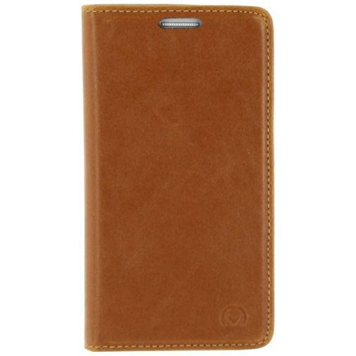 Mobilize Premium Magnet Book Case Brown Samsung Galaxy S5 Mini
