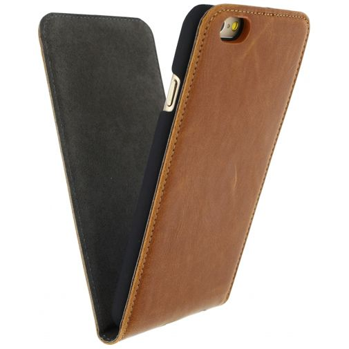 Mobilize Premium Magnet Flip Case Brown Apple iPhone 6/6S
