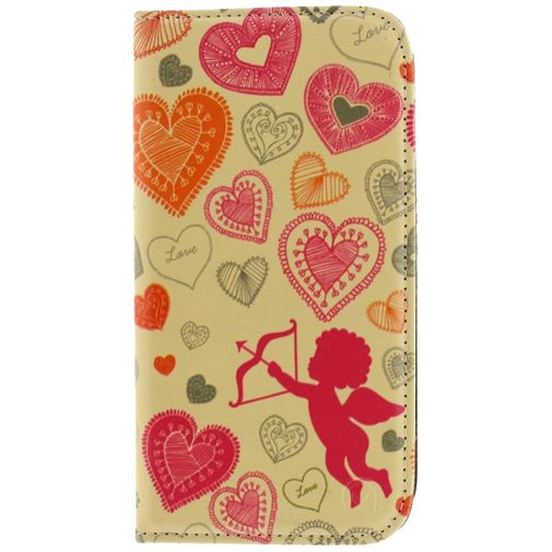 Mobilize Premium Magnet Stand Wallet Book Case Cupid Samsung Galaxy S5/S5 Plus/S5 Neo