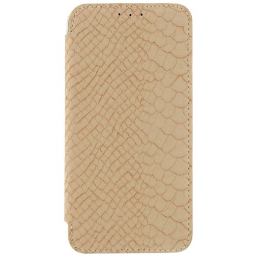 Mobilize Slim Booklet Soft Snake Creamy Rose Apple iPhone 6/6S