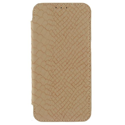 Mobilize Slim Booklet Soft Snake Creamy Rose Samsung Galaxy S7