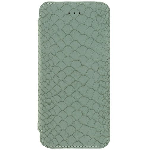 Mobilize Slim Booklet Soft Snake Wild Moss Apple iPhone 6/6S