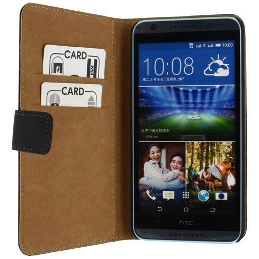 Mobilize Slim Wallet Book Case Black HTC Desire 820