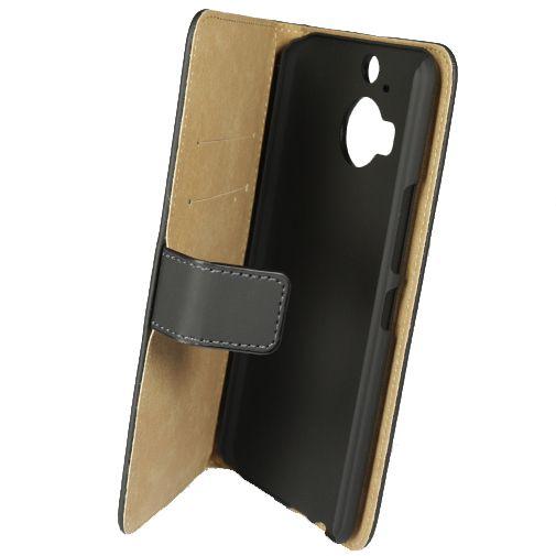 Mobilize Slim Wallet Book Case Black HTC One M9 Plus
