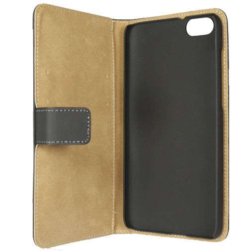 Mobilize Slim Wallet Book Case Black Honor 4X