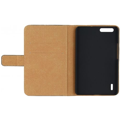 Mobilize Slim Wallet Book Case Black Honor 6+