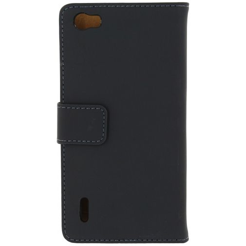 Mobilize Slim Wallet Book Case Black Honor 6
