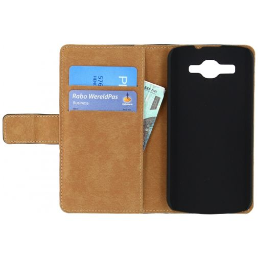 Mobilize Slim Wallet Book Case Black Huawei Ascend Y540 Dual Sim