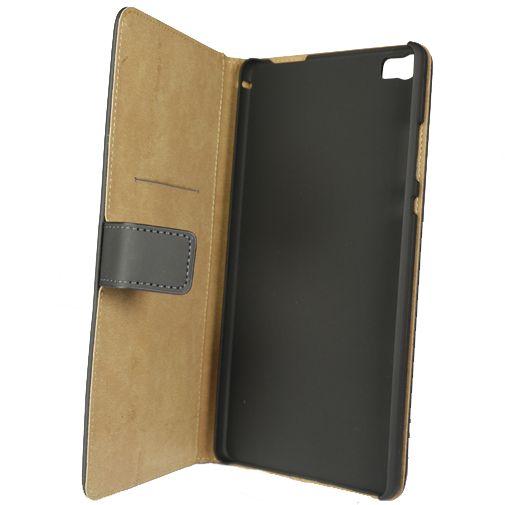 Mobilize Slim Wallet Book Case Black Huawei P8 Max