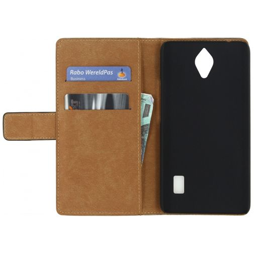 Mobilize Slim Wallet Book Case Black Huawei Y635