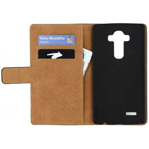Mobilize Slim Wallet Book Case Black LG G4