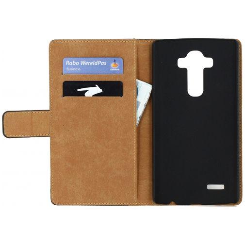 Productafbeelding van de Mobilize Slim Wallet Book Case Black LG G4
