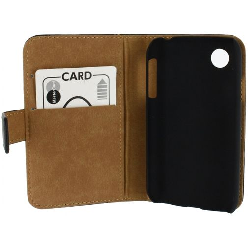 Mobilize Slim Wallet Book Case Black LG L40