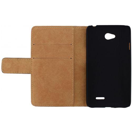 Mobilize Slim Wallet Book Case Black LG L70