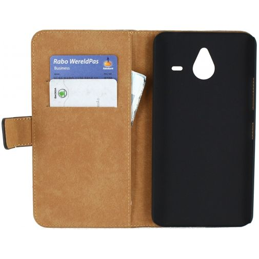 Mobilize Slim Wallet Book Case Black Microsoft Lumia 640 XL 4G