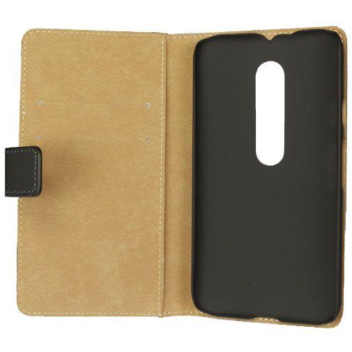 Mobilize Classic Wallet Book Case Black Motorola Moto G (3rd Gen)