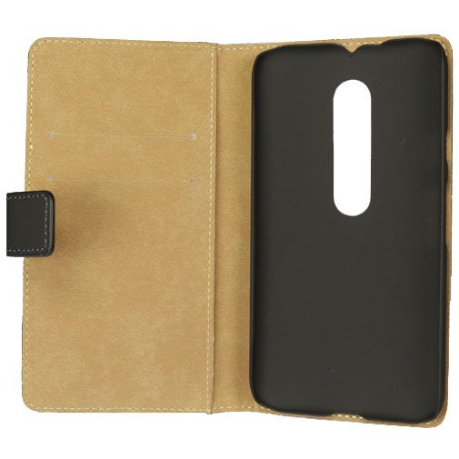 Mobilize Slim Wallet Book Case Black Motorola Moto G (3rd Gen)