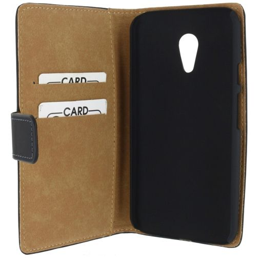 Productafbeelding van de Mobilize Slim Wallet Book Case Black Motorola New Moto G