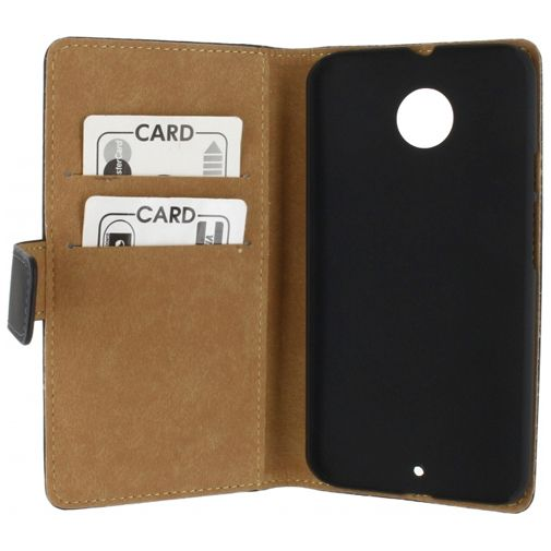 Mobilize Slim Wallet Book Case Black Motorola New Moto X