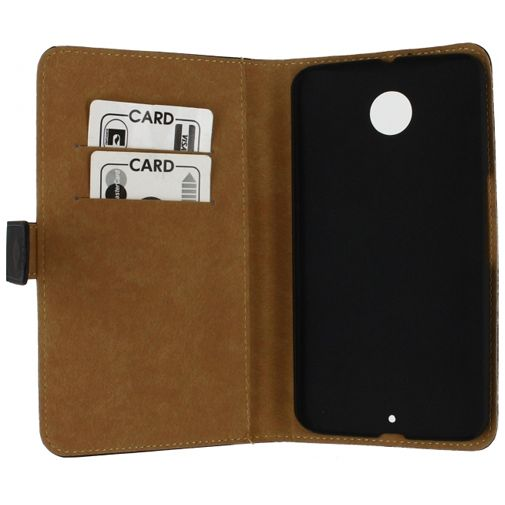 Mobilize Slim Wallet Book Case Black Motorola Nexus 6