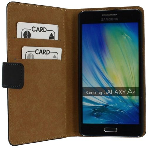Mobilize Slim Wallet Book Case Black Samsung Galaxy A5
