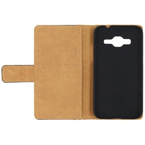 Productafbeelding van de Mobilize Slim Wallet Book Case Black Samsung Galaxy Core Prime (VE)