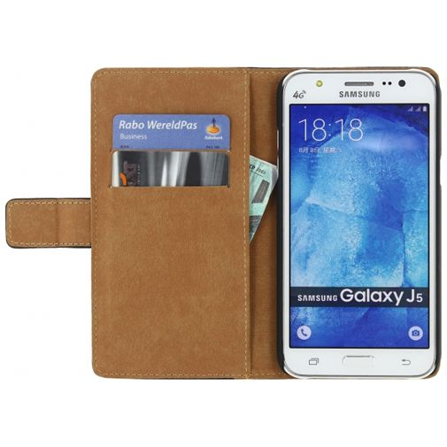Mobilize Slim Wallet Book Case Black Samsung Galaxy J5