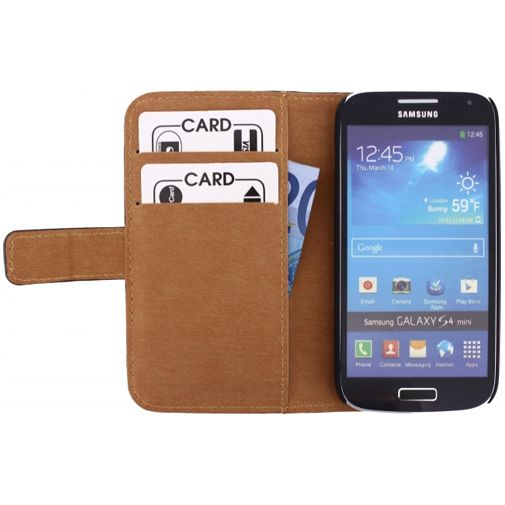 Mobilize Slim Wallet Book Case Black Samsung Galaxy S4 Mini (VE)