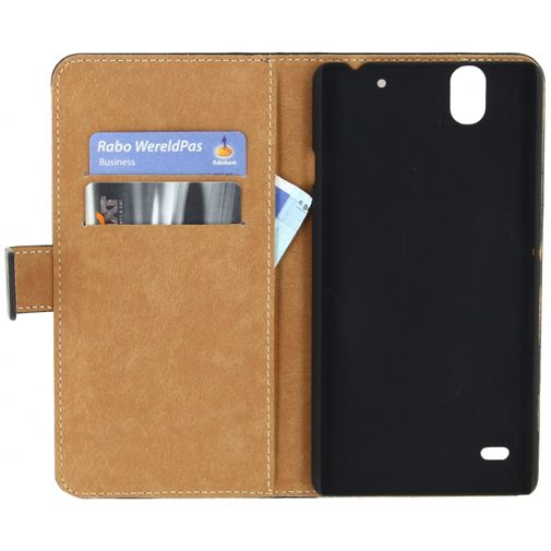 Mobilize Slim Wallet Book Case Black Sony Xperia C4