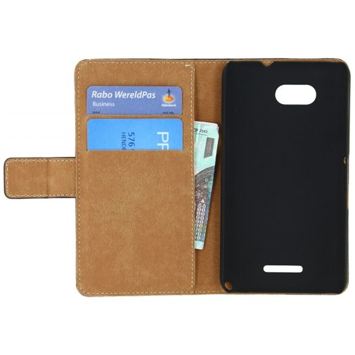 Mobilize Slim Wallet Book Case Black Sony Xperia E4G