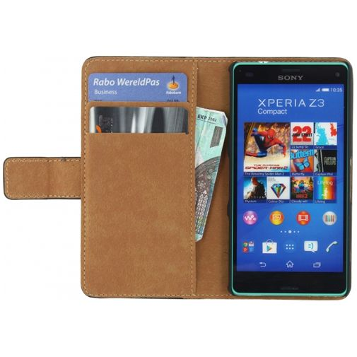 Mobilize Slim Wallet Book Case Black Sony Xperia Z3 Compact