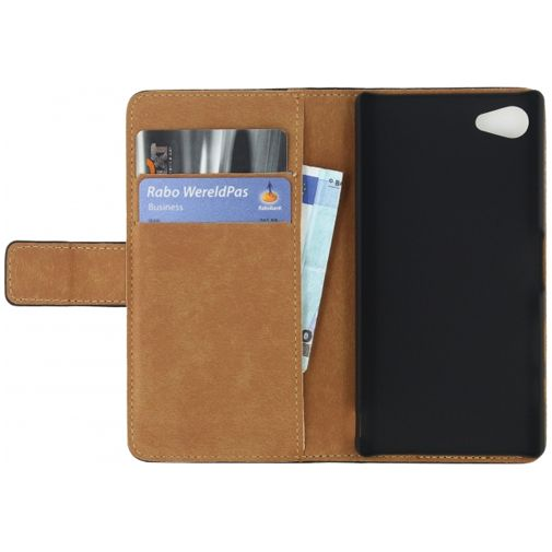 Mobilize Classic Wallet Book Case Black Sony Xperia Z5 Compact