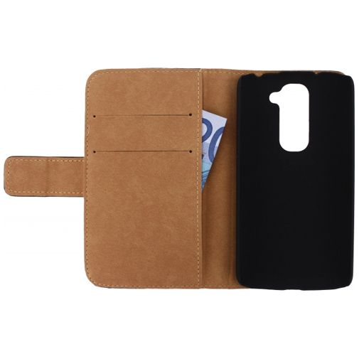 Productafbeelding van de Mobilize Slim Wallet Book Case LG G2 Mini Black