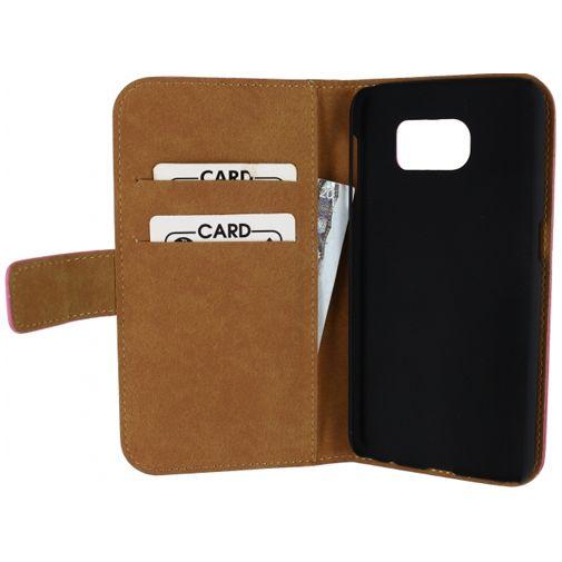 Productafbeelding van de Mobilize Slim Wallet Book Case Pink Samsung Galaxy S6